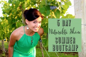Join Me in my FREE 5 Day Healthy Summer Bootcamp!