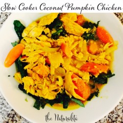 Slow Cooker Coconut Pumpkin Chicken