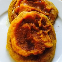 Pumpkin. Pancakes. Simple & Gluten Free.