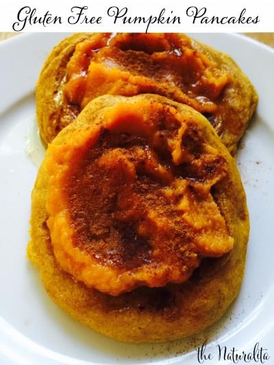 Pumpkin. Pancakes. Simple & Gluten Free.