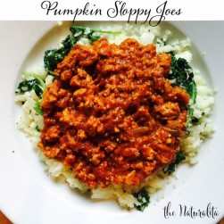Pumpkin Sloppy Joes