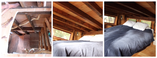 Up in the loft!  Would you sleep here?