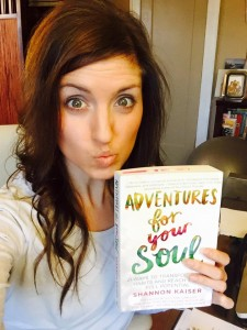 Adventures for your Soul book