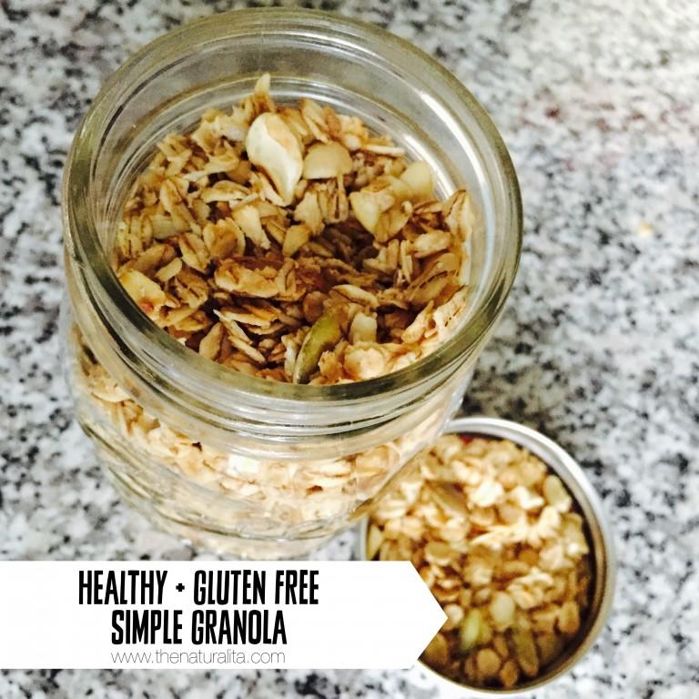 Cashew Coconut Maple Gluten Free Granola