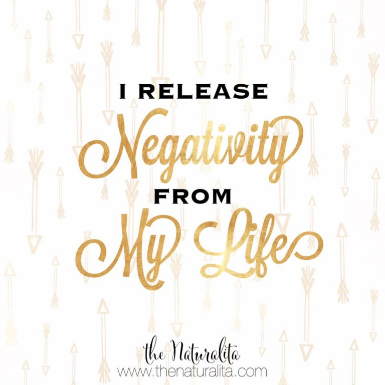 Self Love Mantra Monday: Release Negativity