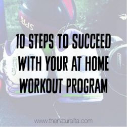 10 Steps to Succeed With Your at Home Workout Program