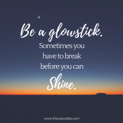 Break Before You Shine