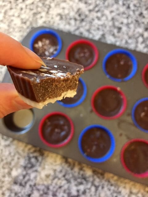 fat bombs, healthy reeses, healthy peanut butter cups, paleo, ketogenic fat bombs, natural treats, healthy fat bombs, gluten free, dairy free, fat bombs