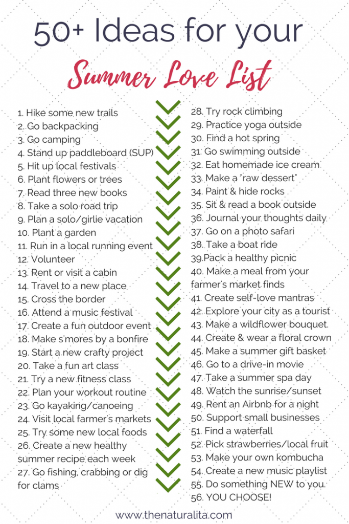 50+ love-filled ideas and activities to create a fun summer