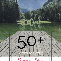 50 + Ideas to Create Your Summer Love List