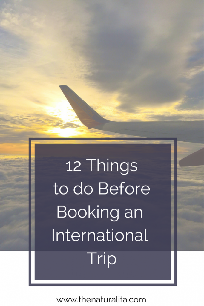 What do do before traveling abroad