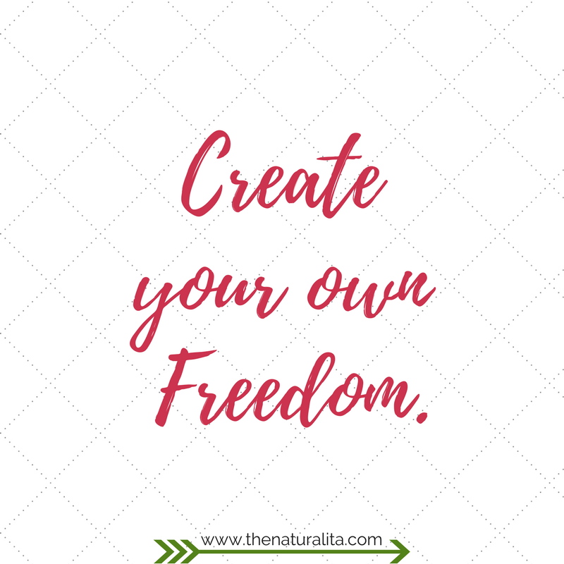Create your own freedom, freedom, job freedom, job change, enrepreneur