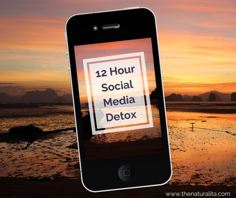 12 Hour Social Media Detox – Six Simple Steps